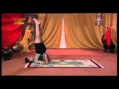 Yoga for Eyesight Restoration - 4. Halasana