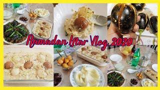 Ramadan Iftar Vlog 2020/Iftar Mai Bnai Dodh Dulari & Bhagary Bengan