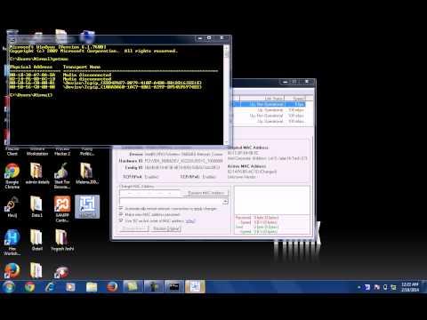 Change MAC Address of a System