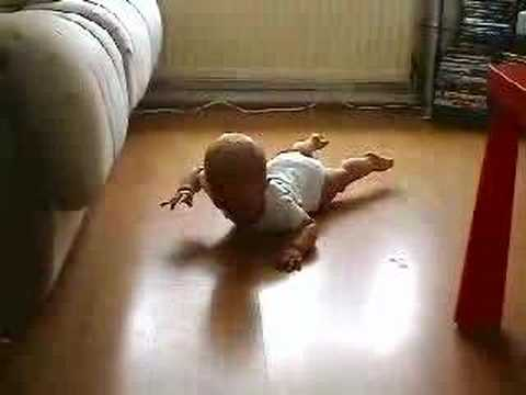 Baby Crawling Lesson 1