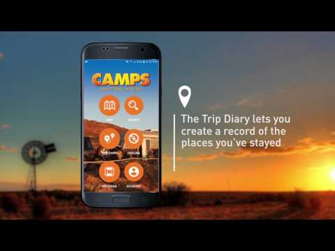 Camps Australia App  v 2 Phone demo