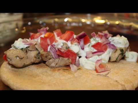 Food Diary: Chicken Souvlaki Recipe (Greek)