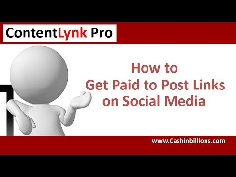Contentlynk Pro Review | Get Paid to Post Links | Make Money Posting Links
