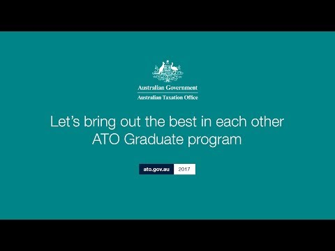 Let's bring out the best in each other- ATO Graduate  testimonial