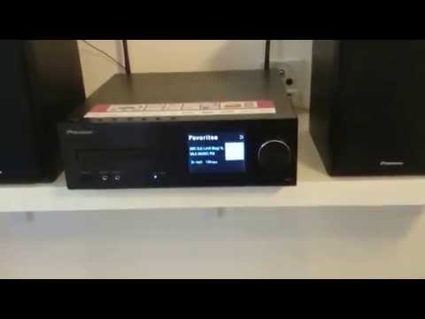 Pioneer X-HM72 in action