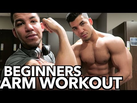 Beginners Arm Workout!!! (FOR MUSCLE MASS)