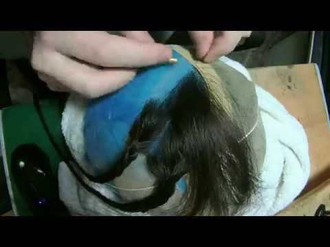 Human Hair Wig Time Lapse 150x Speed
