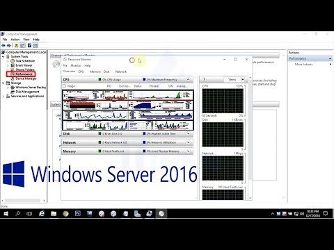 How to monitoring server performance in Windows Server 2016 - 27