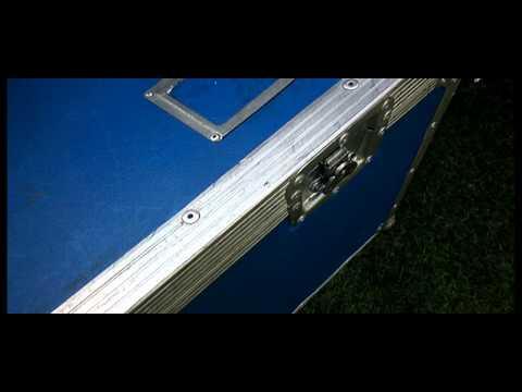 LIGHTWEIGHT HEAVY DUTY MEDIUM TRUNK CHEST STYLE FLIGHT CASE 7mm ASTRO BOARD