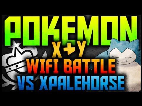 Pokemon X & Y Wifi Battle vs XPaleHorse