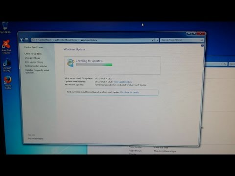 Windows 7 Stuck