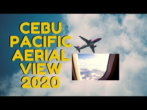 AIRPLANE VIEW FROM WINDOW PHILIPPINES 2020