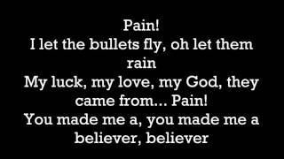 Imagine Dragons   Believer  Lyrics