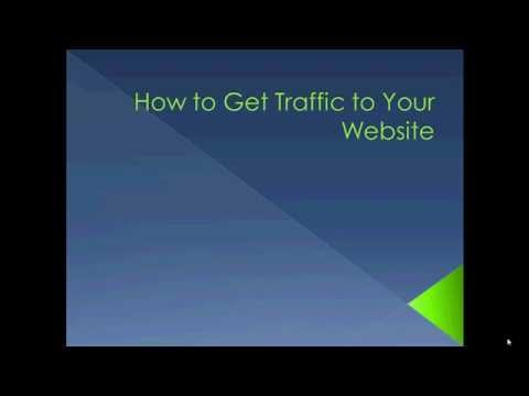 How To Get Traffic To Your Website   Successful Tips