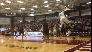 Silvio De Sousa finishes alley-oop slam off feed from Trevon Duval
