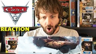 CARS 3 OFFICIAL TEASER TRAILER REACTION OMG 😲😮