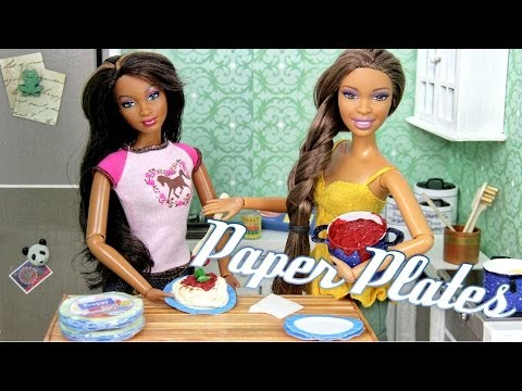 How to Make: Doll Paper Plates | Plus Fun Finds - Doll Crafts