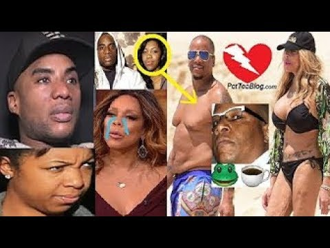 Wendy Williams Husband CHEATED for 10 Years & Charlamagne is WHY sidechick... 😳🐸☕️💔