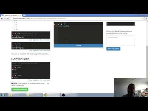 Web developerská škola, časť 15: JavaScript - Operátory priradenia