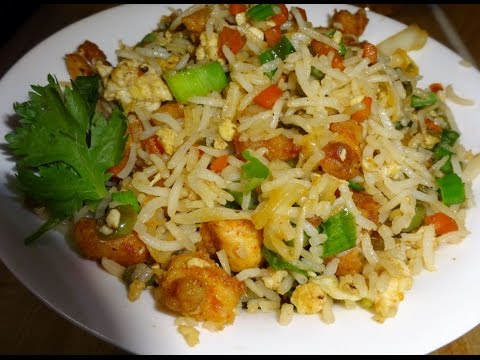 Chicken Fried rice in Tamil