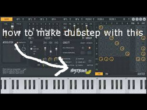 How to make a dubstep drop with Sytrus