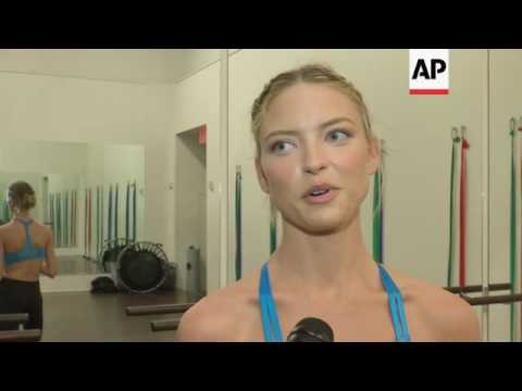 Victoria's Secret Angel Martha Hunt takes us through her training process before the annual Victoria