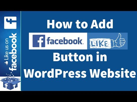 How to Add Facebook Like button to your WordPress Sidebar? Add Facebook Page Plugin to WordPress