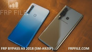Hard reset Samsung A9 2018 /SM-A920F/ Unlock pattern/pin/password