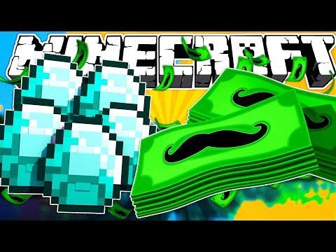 MUSTACHE MONEY?! | Minecraft Creative