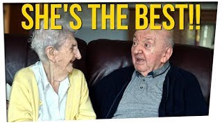 98-Yr-Old Mom Moves to Care for 80-Yr-Old Son ft. DavidSoComedy