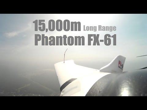 ZETA Phantom FX61 15km/15000m Long Range Flight