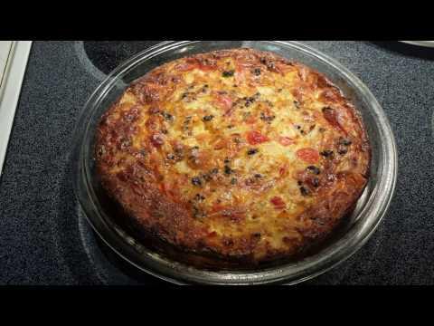 Quiche recipe - no crust