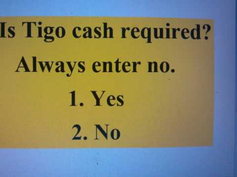 How to register Tigo sim card and earn money in Gh