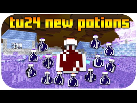 ★Minecraft Xbox 360 + PS3 NEW Title Update 24 Potions - Nausea, Water Breathing Gameplay & MORE!★