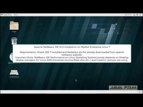 Apache NetBeans 10 Installation on Redhat Enterprise Linux 7 and Java 11 Modular Programming