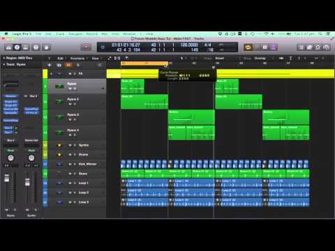 How to EDM: Wobble Bass House Tutorial & FREE Massive Presets (Logic Pro Template / Project, Loops)