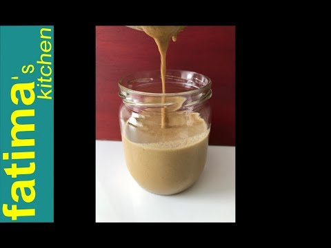 How To Make Tahini At Home/easy and fast