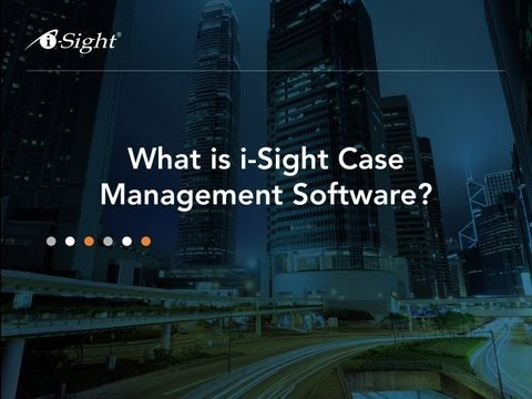 What is i-Sight Case Management Software?