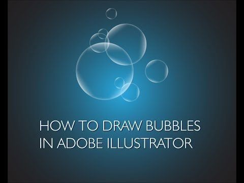 Adobe Illustrator - how to draw bubbles