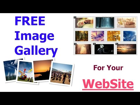 HTML/CSS Image Gallery (Responsive)