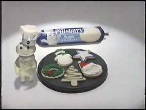 Pillsbury Sugar Cookie Commercial - Christmas 1995