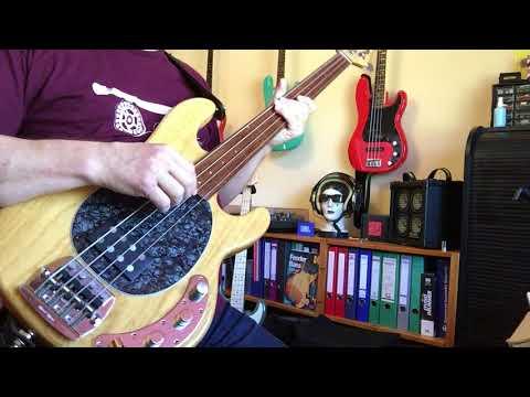 MusicMan Stingray Bass fretless, passive Conversion !