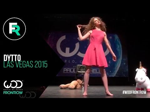 Dytto | FRONTROW | World of Dance Las Vegas 2015 | #WODVEGAS15