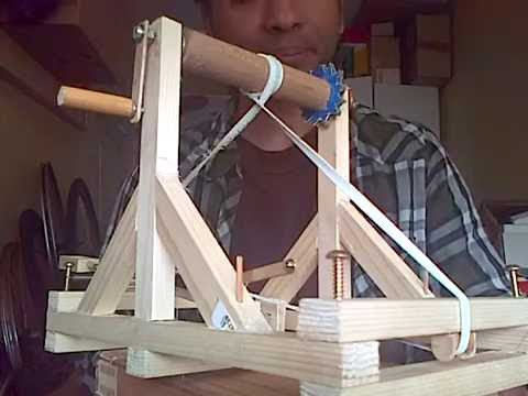 DIY Roman Catapult, more historically accurate design