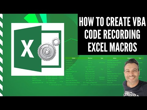 Watch An Excel Macro Write Your VBA Code