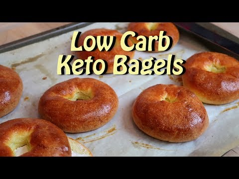 Low Carb Keto Bagels Easy Recipes Eps 88