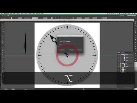 Illustrator tutorial: Make a Clock