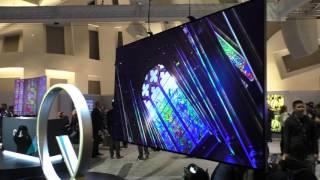 QLED 4K TVs von Samsung mit flachem und curved Display (CES 2017)