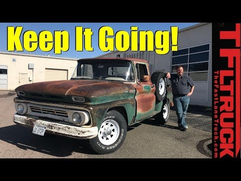 Daily Driver 1962 Chevy C10 with a Cool Story