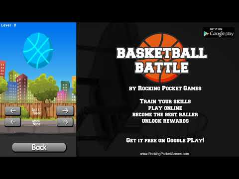 Basketball Battle by Rocking Pocket Games